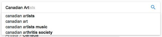 image of Google Autocomplete